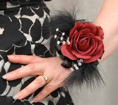prom wrist corsage ideas 24 best wrist corsage s images on wrist corsage