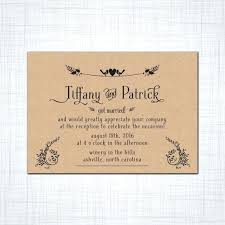 elopement invitations elopement wedding invitations easy to wedding