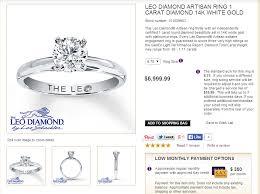 leo diamond ring diamond reviews leo artisan or brian gavin signature diamond