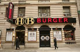 places to eat thanksgiving dinner in nyc hb burger burger restaurant in time square new york heartland