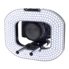 macro lens ring light ledgo 332 led macro photography video ring light inc batteries and