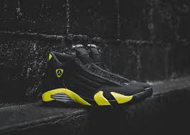 retro ferrari shoes coming soon air jordan 14 retro u201cthunder u201d wish blog