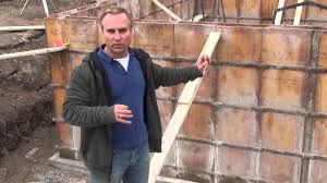 how to build a house forming the concrete walls ep 22 youtube