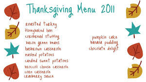 ten june our thanksgiving menu