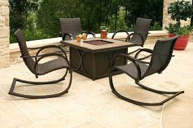 outdoor fire pit furniture outdoor fire pit seating idea with