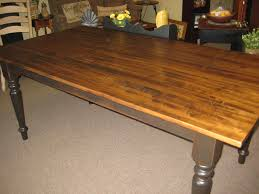 Maple Table Top by Harvest Table With Hand Scraped Brown Maple Top Colonial
