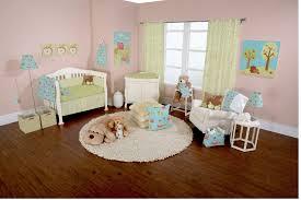 bedroom fancy taupe crib in nursery design wood floor material