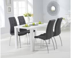 Black White Dining Table Chairs Black White Dining Table Matt Sets The Great Furniture Trading