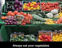 Vegetable Meme - if you don t eat them you ll become the vegetable meme by