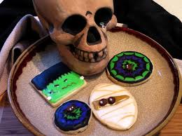 halloween cookie solutions alizarine