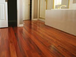 bathroom laminate floors get the look of wood and more for less