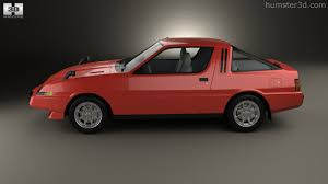 mitsubishi gsr 1 8 turbo 360 view of mitsubishi starion turbo gsr iii 1982 3d model hum3d
