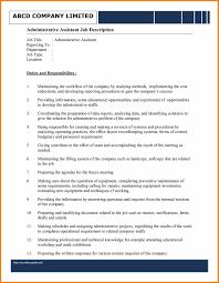 resume templates for administration job administration job description template dalarcon com administration job description template administration job