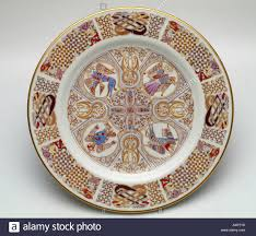 iona spode china plates with celtic designs inspired by the