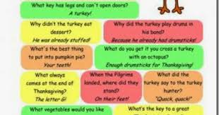 thanksgiving jokes for
