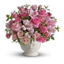 potpourri teleflora u0027s pink potpourri bouquet with roses in wheeler tx