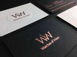 business card business luxury business card design watches of wales