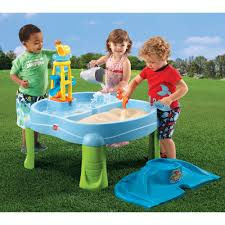 american plastic toys sand and water play table walmart com