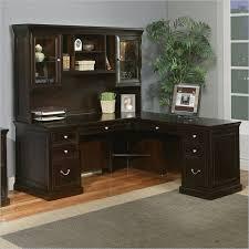espresso desk with hutch kathy ireland home by martin fulton 68 rhf l shaped executive desk