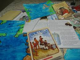 scholastic thanksgiving voyage the pilgrims with beautiful feet books at the well