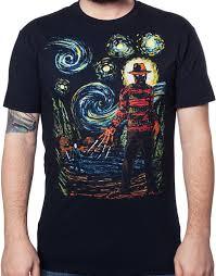 halloween horror nights shirts starry nightmare freddy and jason t shirt freddy jason mens t shirt
