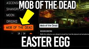 Map Of The Dead Zombies Chronicles How To Get Mob Of The Dead Easter Egg Hidden