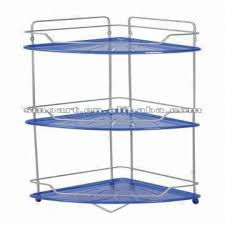 3 tier bathroom corner shelf with plastic tray global sources