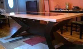 tile top dining room tables tile dining room table createfullcircle com
