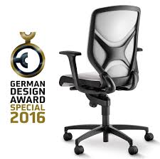 White Ergonomic Office Chair by Awarded With The German Design Award 2016 Special Mention