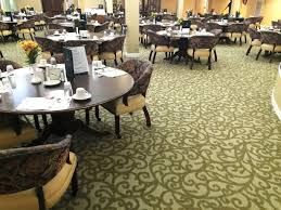 images by flooring type business floors assisted living dining room with patterned carpet