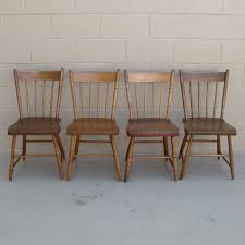 wood vintage dining chairs special and unique vintage dining