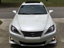 lexus matte white 2012 lexus is 250 f sport 18 500 youtube