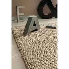maison du tapis tapis en beige 140 x 200 cm tapis beige tapis et palier