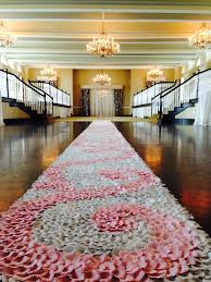 petal aisle runner the floridian blush pink swirl aisle runner blush pink