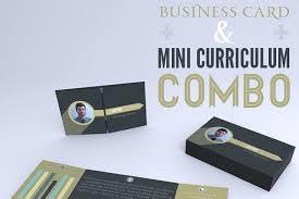 mini resume business card examples mini resume business card