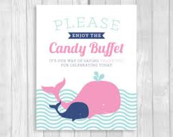 Baby Shower Candy Buffet Sign by Baby Girls Are So Sweet Please Take A Treat 5x7 8x10