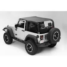 jeep wrangler grey 2 door rugged ridge 13591 35 wrangler jk soft top pocket island topper