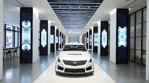 future cars inside cadillac house may be the future of u0027brand experience u0027 u2014 but can