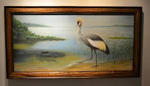 uganda crested crane national bird martin roznowski