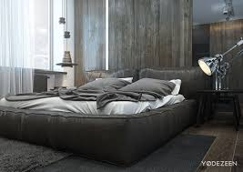 great low bed design inspiration features nature wooden accent