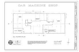 car machine shop floor plan southern pacific sacramento shops