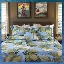 hawaiian surf and tropical bedding