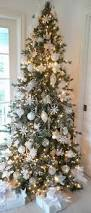 Christmas Decorations In White by Breathtaking Christmas Trees Decorated In White 93 For Home Design