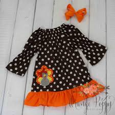 thanksgiving dresses for girls gobble gobble dress u2013 orange poppy boutique