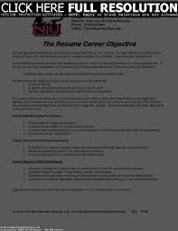 Career Objective For Resume Mechanical Engineer Resume Samples Uva Career Center Objective Statement For
