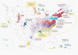 Northeast Usa Map by What 770 000 Tubes Of Saliva Reveal About America U2013 Ancestry Blog