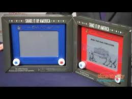 early 1960s ohio art etch a sketch magnastiks tv commercial