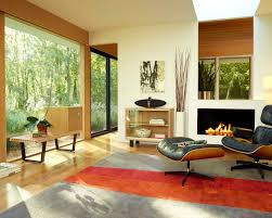 eames chair living room beautiful modern interior design eames lounge chair and ottoman