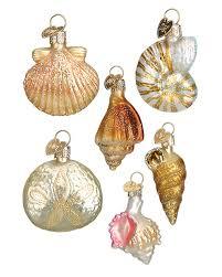 mini sea themed ornaments traditions