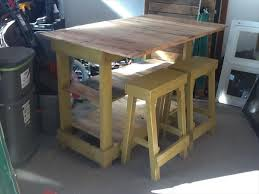 kitchen island tables with stools diy pallet kitchen island table with stools pallet furniture plans